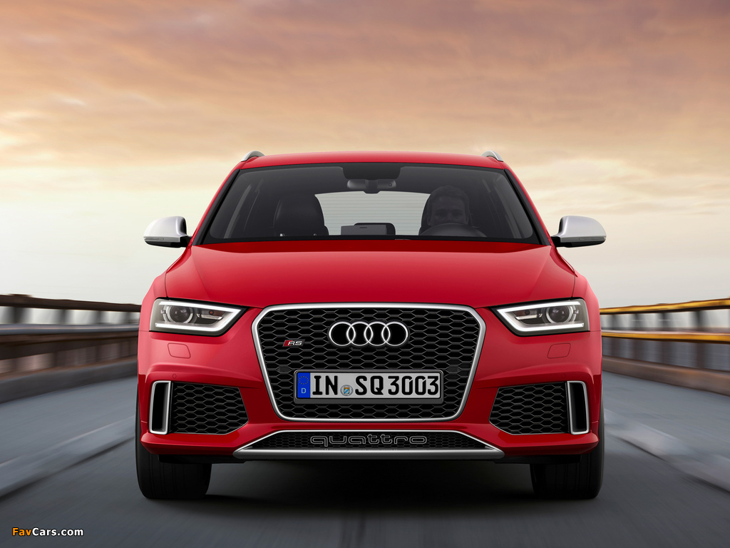 Audi RS Q3 2013 wallpapers (1024 x 768)