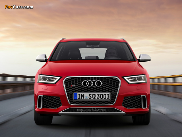 Audi RS Q3 2013 wallpapers (640 x 480)