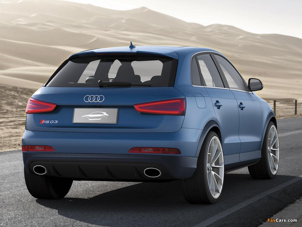 Images of Audi RS Q3 Concept 2012 (1024 x 768)