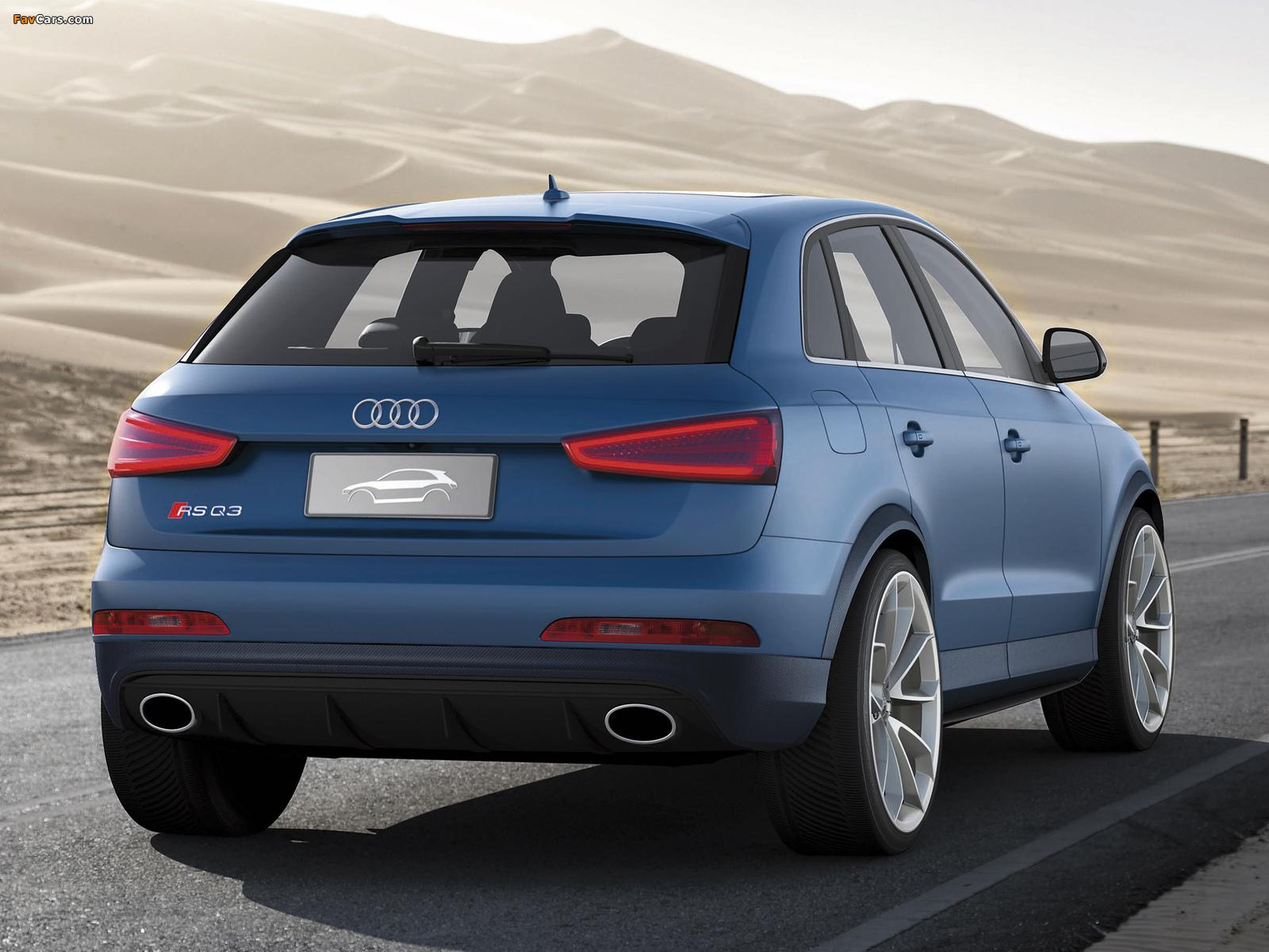 Images of Audi RS Q3 Concept 2012 (1600 x 1200)