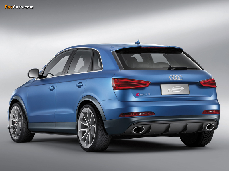 Images of Audi RS Q3 Concept 2012 (800 x 600)