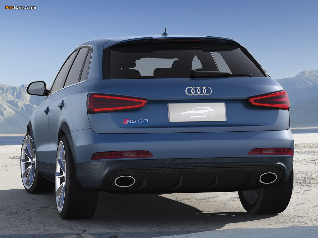 Pictures of Audi RS Q3 Concept 2012 (1024 x 768)