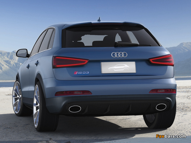 Pictures of Audi RS Q3 Concept 2012 (640 x 480)