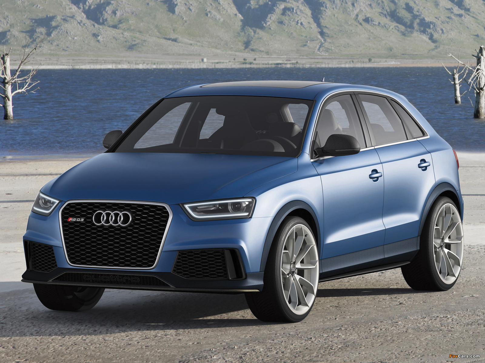 Audi RS Q3 Concept 2012 wallpapers (1600 x 1200)