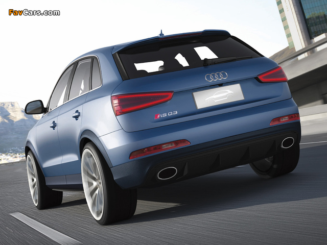 Audi RS Q3 Concept 2012 wallpapers (640 x 480)