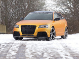 Schwabenfolia Audi RS3 Sportback Gold Orange (8PA) 2013 photos