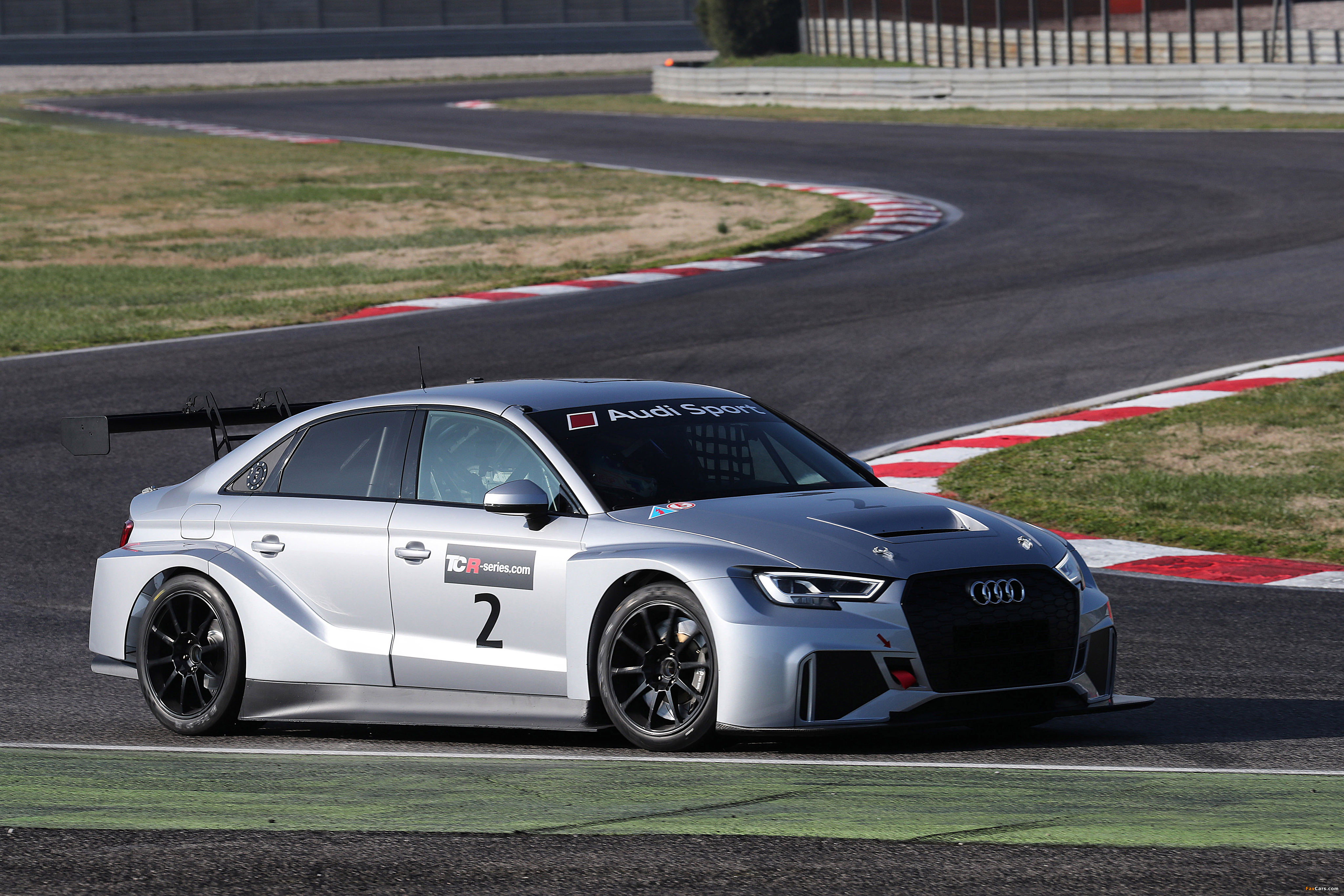 Audi RS 3 LMS (8V) 2016 wallpapers (4096 x 2731)