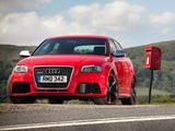Photos of Audi RS3 Sportback UK-spec (8PA) 2010
