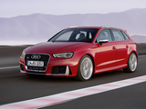 Photos of Audi RS 3 Sportback (8V) 2015