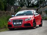 Audi RS3 Sportback UK-spec (8PA) 2010 wallpapers