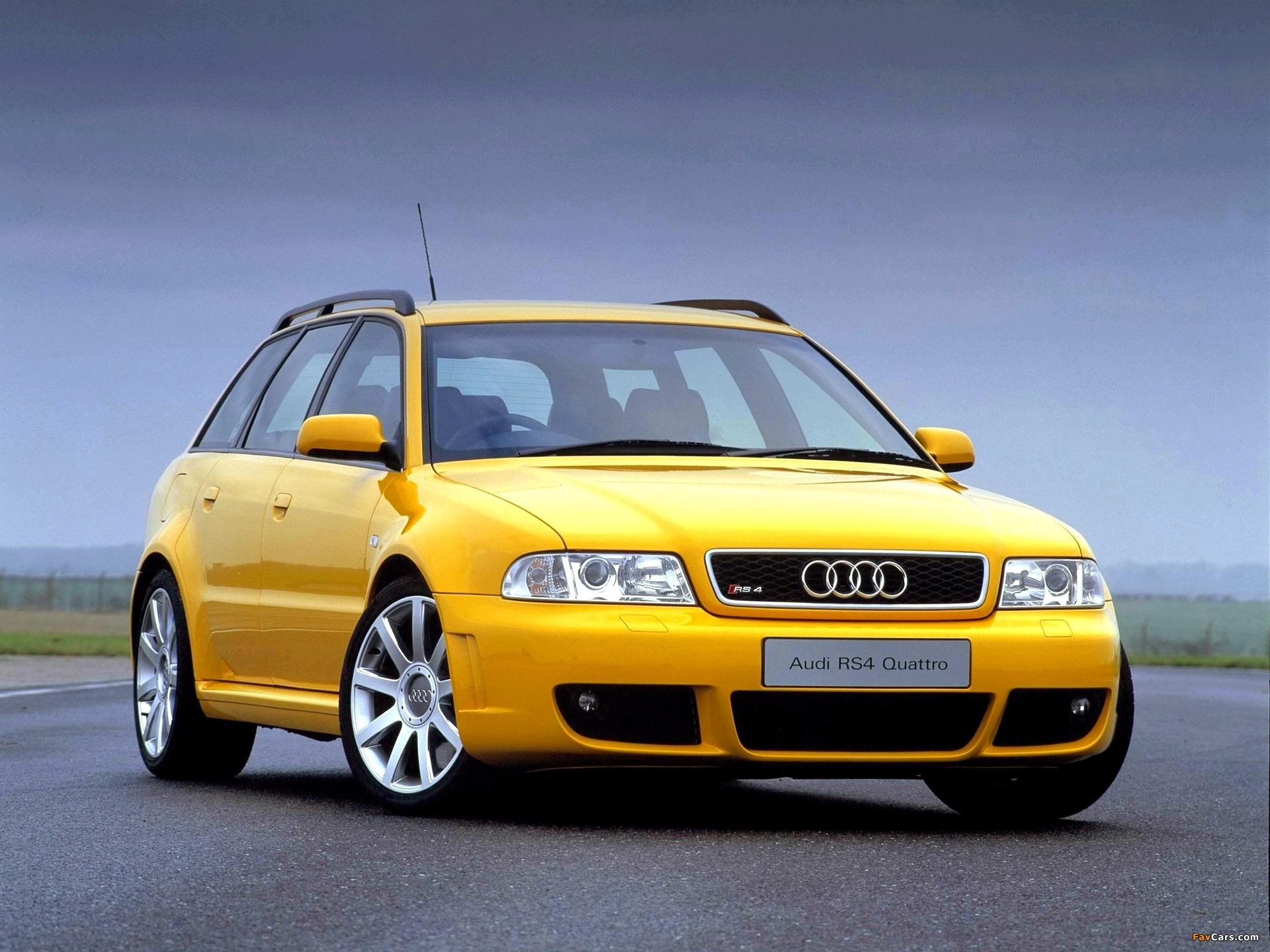 Audi Rs4 Avant Uk Spec B5 8d 2000 01 Wallpapers 1920x1440