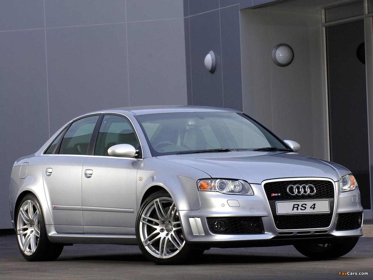 Audi Rs4 Sedan Za Spec B7 8e 2005 07 Wallpapers 1280x960