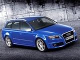 Audi RS4 Avant (B7,8E) 2006–08 images
