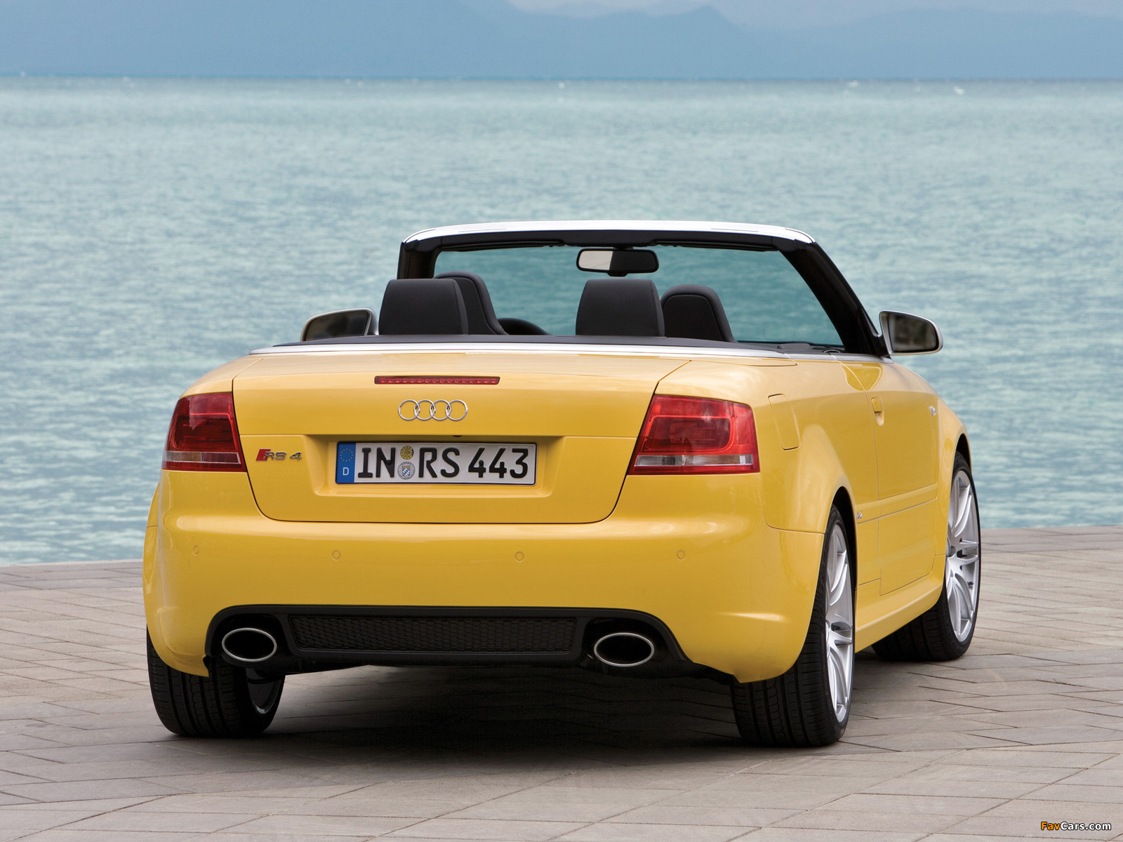 Audi Rs4 Cabriolet B7 8h 2006 08 Pictures 1600x1200