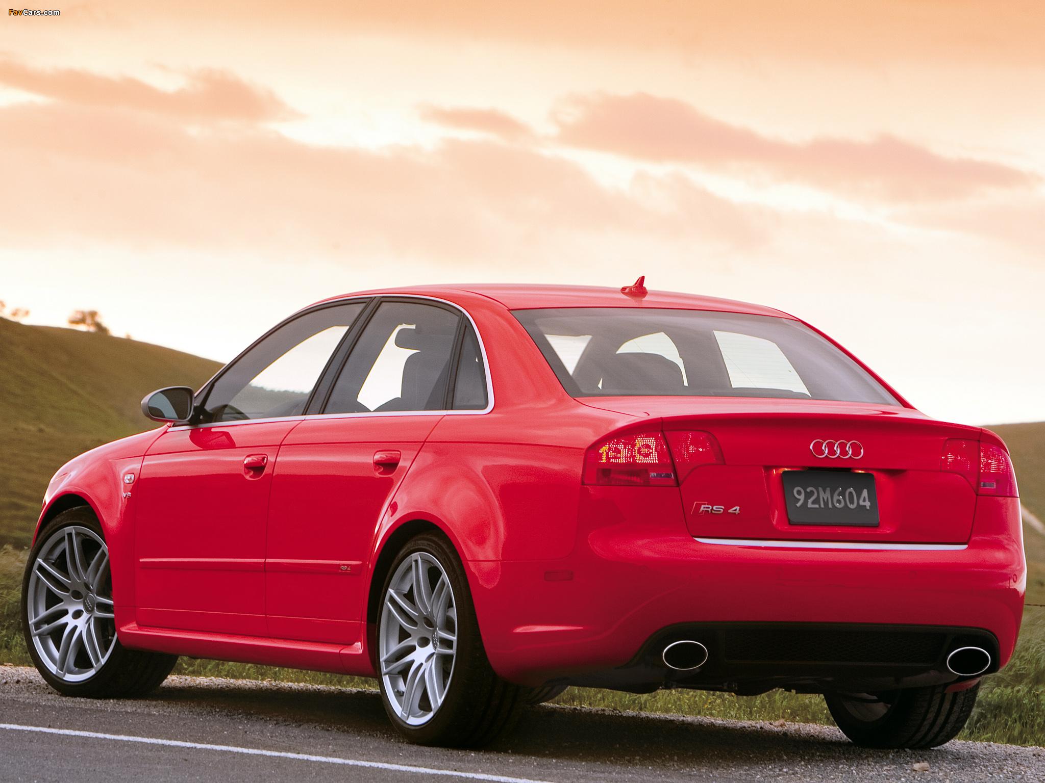 Pictures Of Audi RS Sedan USspec BE X - 2005 audi rs4