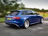 Audi RS4 Avant UK-spec (B8,8K) 2012 wallpapers