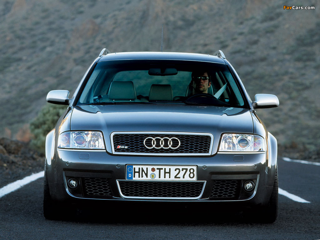Audi Rs6 Avant 4b C5 2002 04 Wallpapers 1024x768