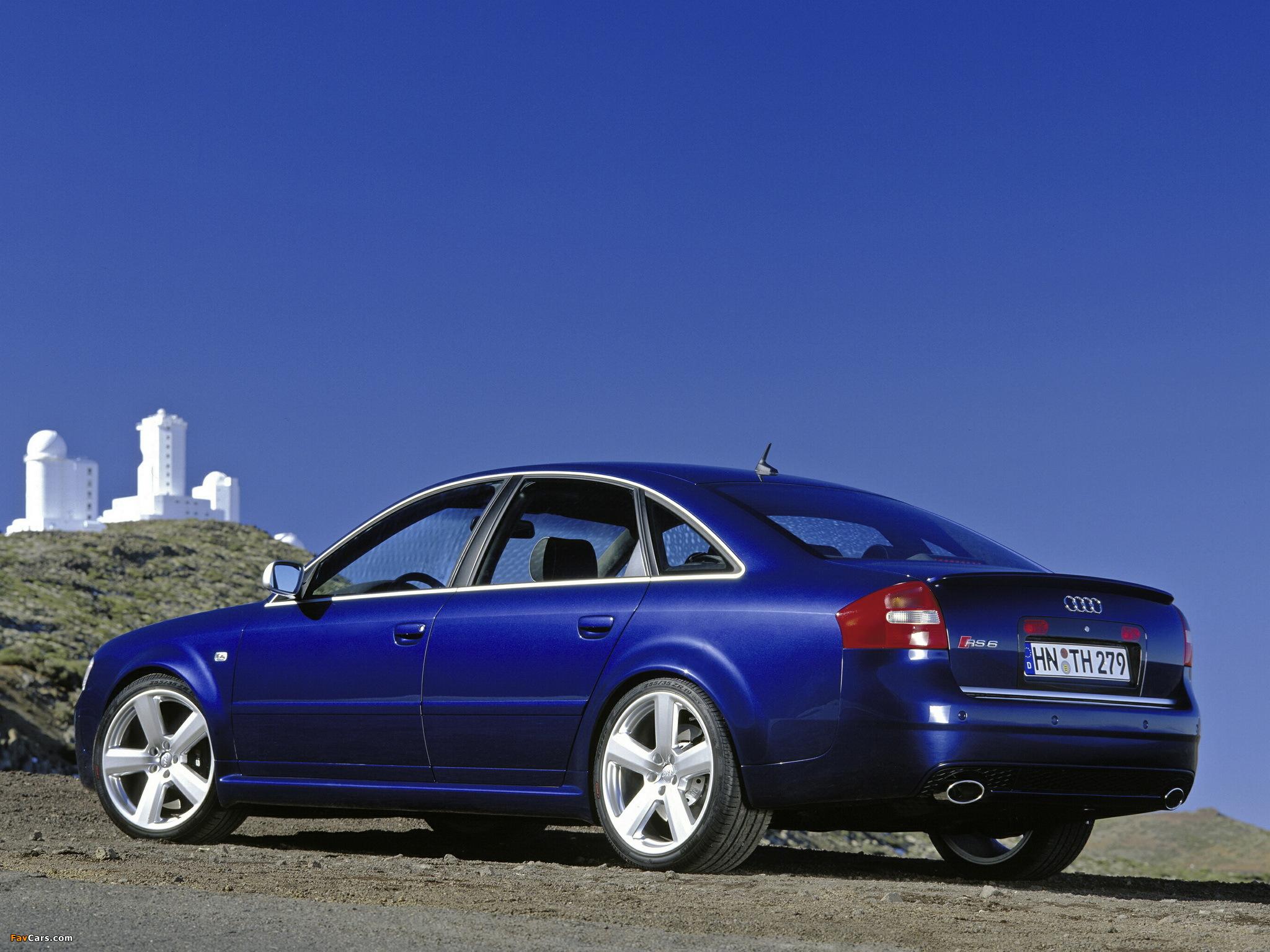 Audi Rs6 Sedan 4b C5 2002 04 Wallpapers 2048x1536