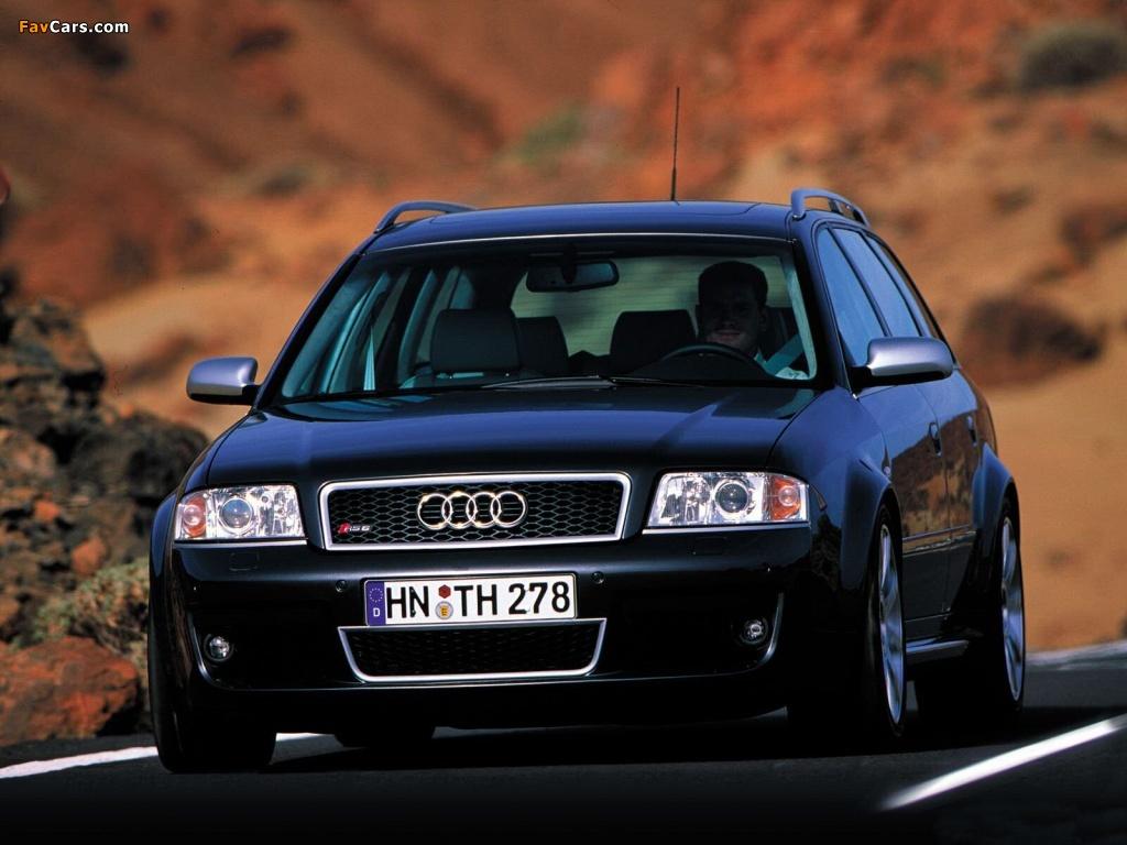 Audi RS6 Avant (4B,C5) 2002-04 wallpapers (1024x768)