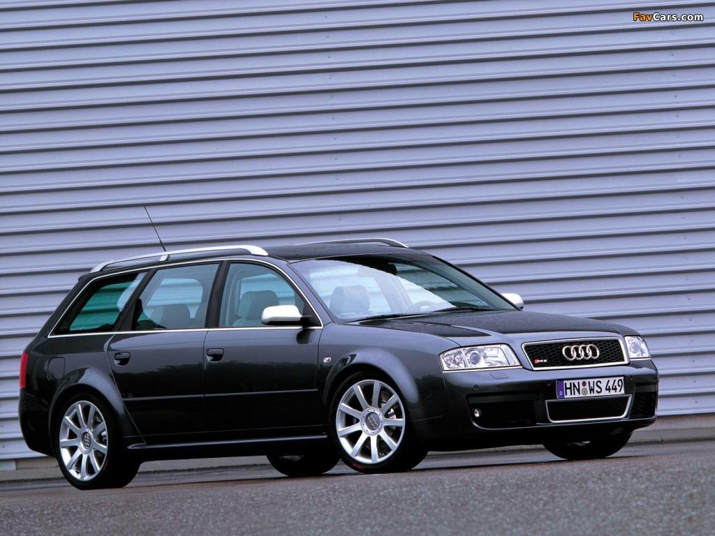 Audi Rs6 Avant 4b C5 2002 04 Wallpapers 1024x768