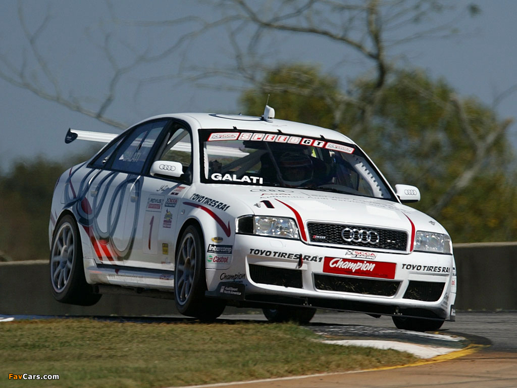 Audi Rs6 Competition Scca World Challenge 4b C5 2003 05