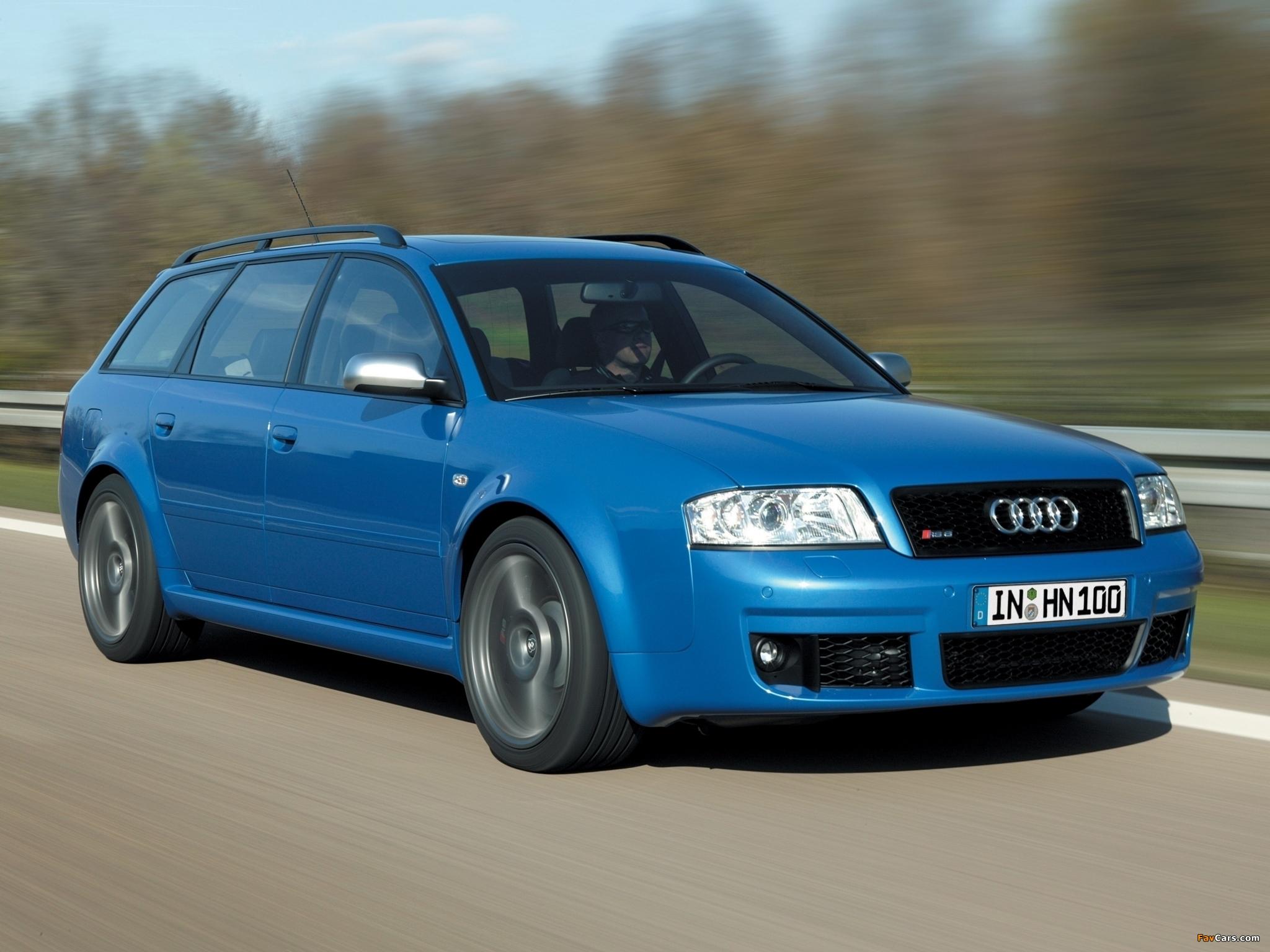 Audi Rs6 Plus Avant 4b C5 2004 Photos 2048x1536