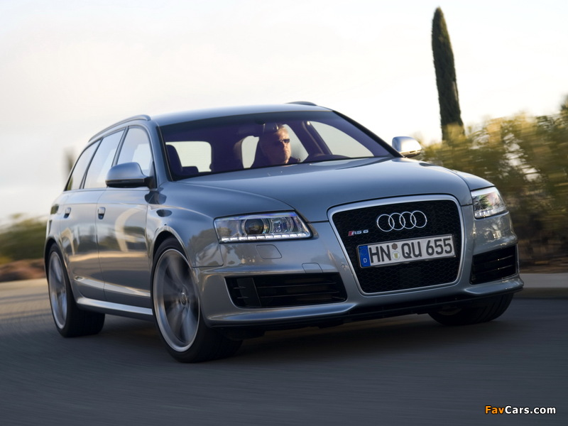 Audi Rs6 Avant 4f C6 2008 10 Wallpapers 800x600