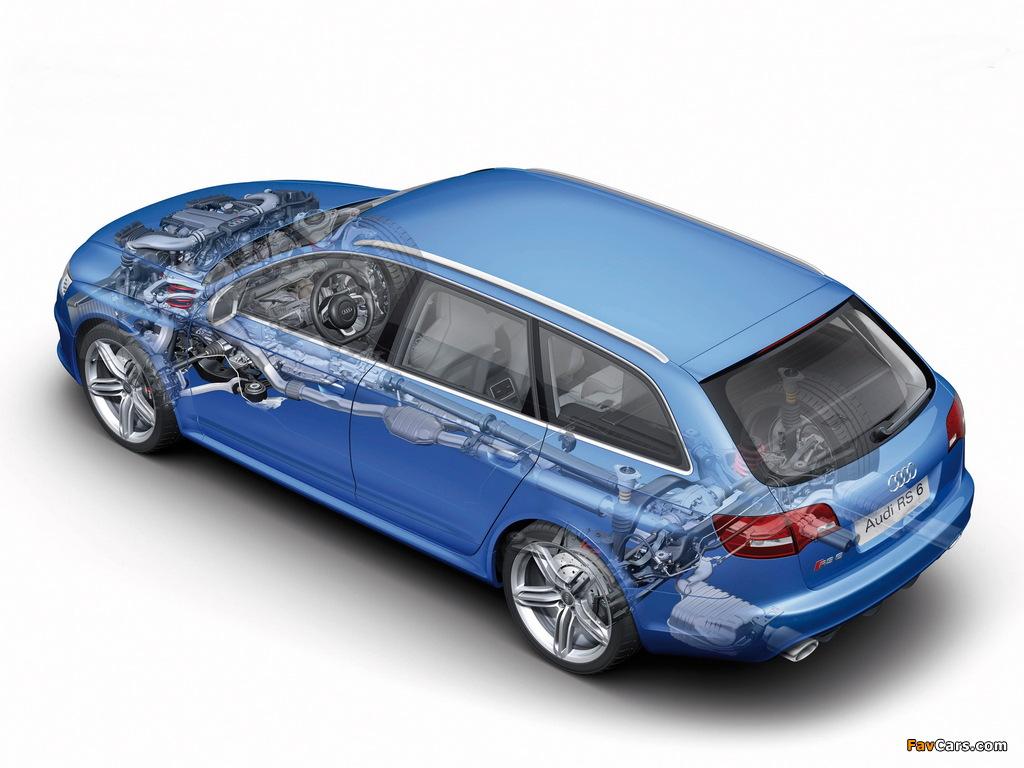 Photos Of Audi Rs6 Avant 4f C6 2008 10 1024x768