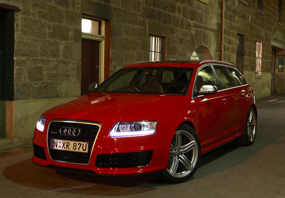 photos of audi rs6 avant au spec 4f c6 2008 10. Black Bedroom Furniture Sets. Home Design Ideas