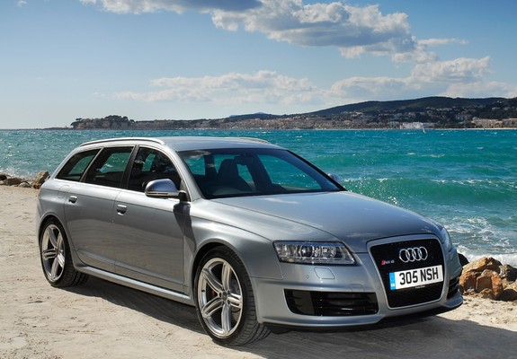 pictures of audi rs6 avant uk spec 4f c6 2008 10. Black Bedroom Furniture Sets. Home Design Ideas