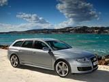 Pictures of Audi RS6 Avant UK-spec (4F,C6) 2008–10