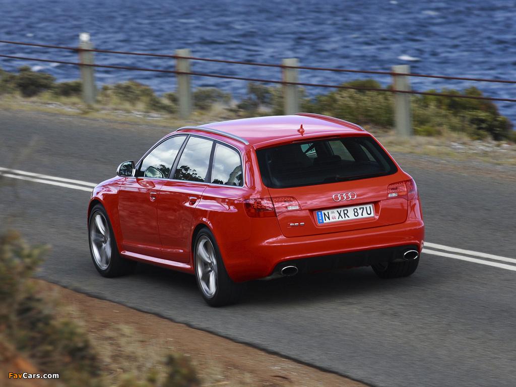 Pictures Of Audi Rs6 Avant Au Spec 4f C6 2008 10 1024x768