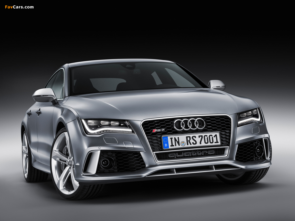 Pictures of Audi RS7 Sportback 2013 (1024 x 768)