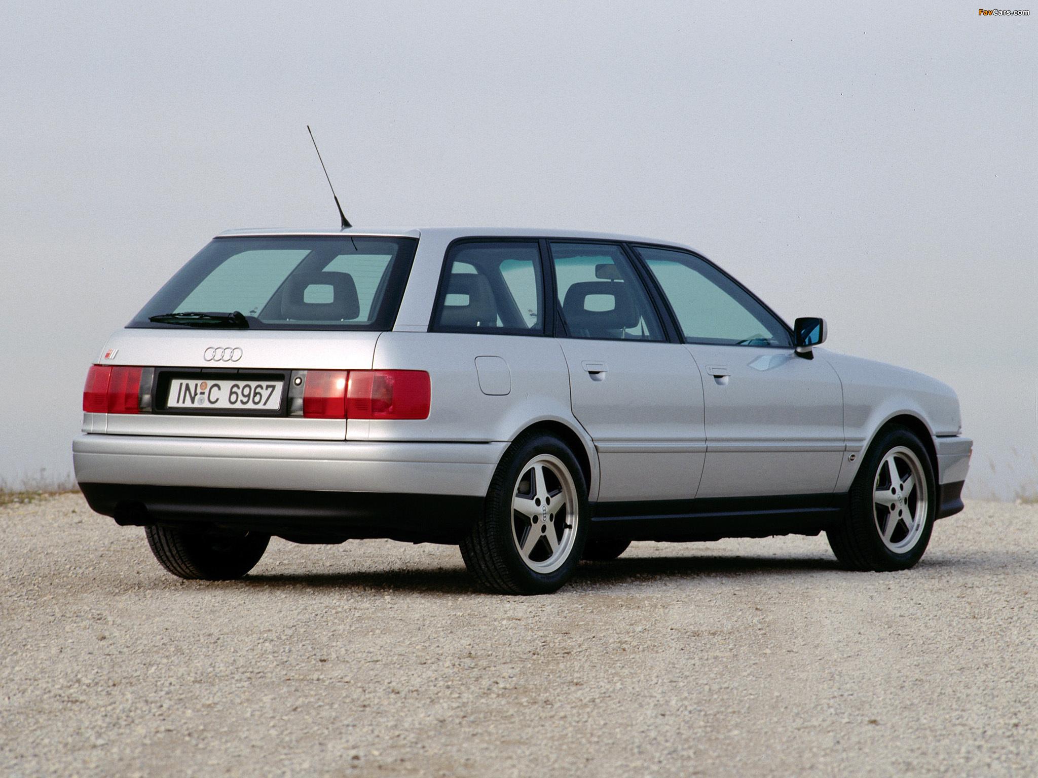 Audi S2 Avant 8c B4 1993 95 Photos 2048x1536