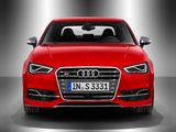 Audi S3 Sedan (8V) 2013 wallpapers