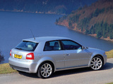 Photos of Audi S3 UK-spec (8L) 2001–03