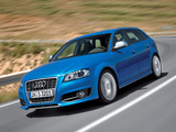 Photos of Audi S3 Sportback (8PA) 2008–10