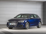 Photos of Audi S3 Sportback UK-spec (8V) 2016