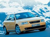 Pictures of Audi S3 (8L) 2001–03