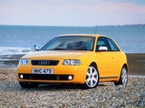 Audi S3 UK-spec (8L) 2001–03 wallpapers