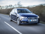 Audi S3 Sportback UK-spec (8V) 2016 wallpapers