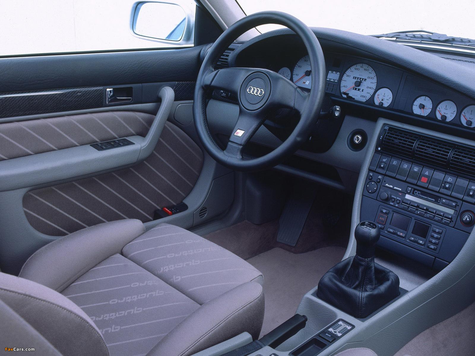 Audi S4 Sedan (4A,C4) 1991–94 images (1600 x 1200)
