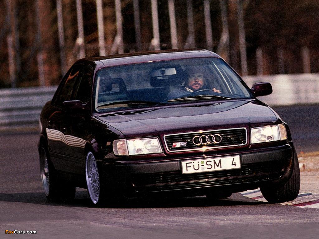 Sms Audi S4 Revo Sedan 4a C4 1991 Photos 1024x768