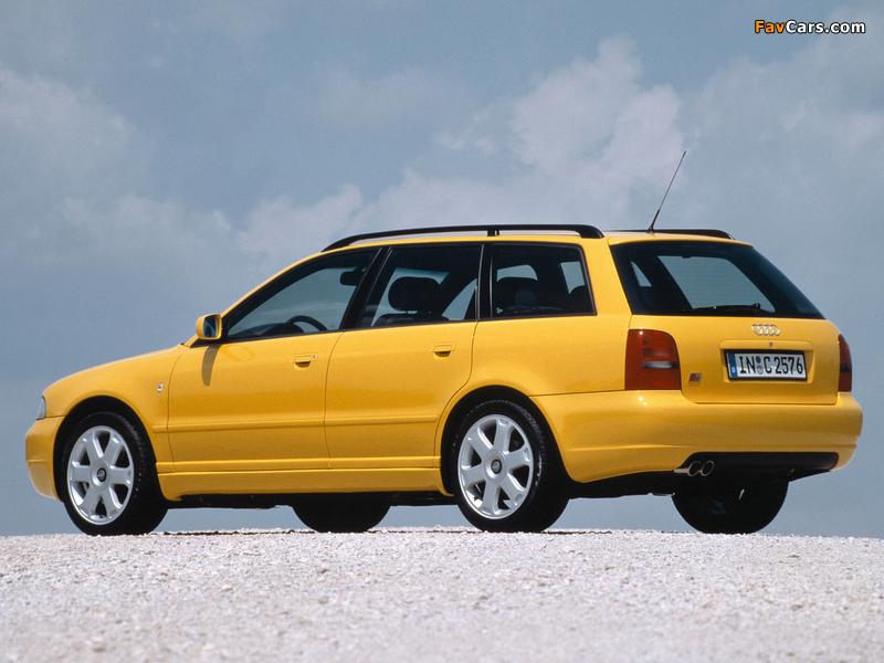 Audi S4 Avant B5 8d 1997 2002 Images 800x600