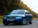 Audi S4 Sedan UK-spec (B5,8D) 1997–2002 images