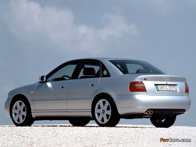 Audi S4 Sedan (B5,8D) 1997–2002 pictures (640 x 480)