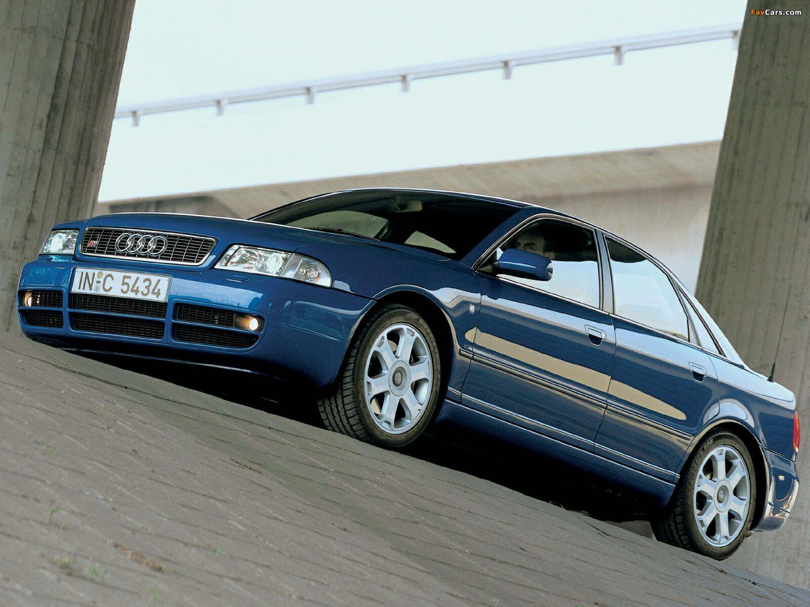 Audi S4 Sedan (B5,8D) 1997-2002 wallpapers (1600x1200)