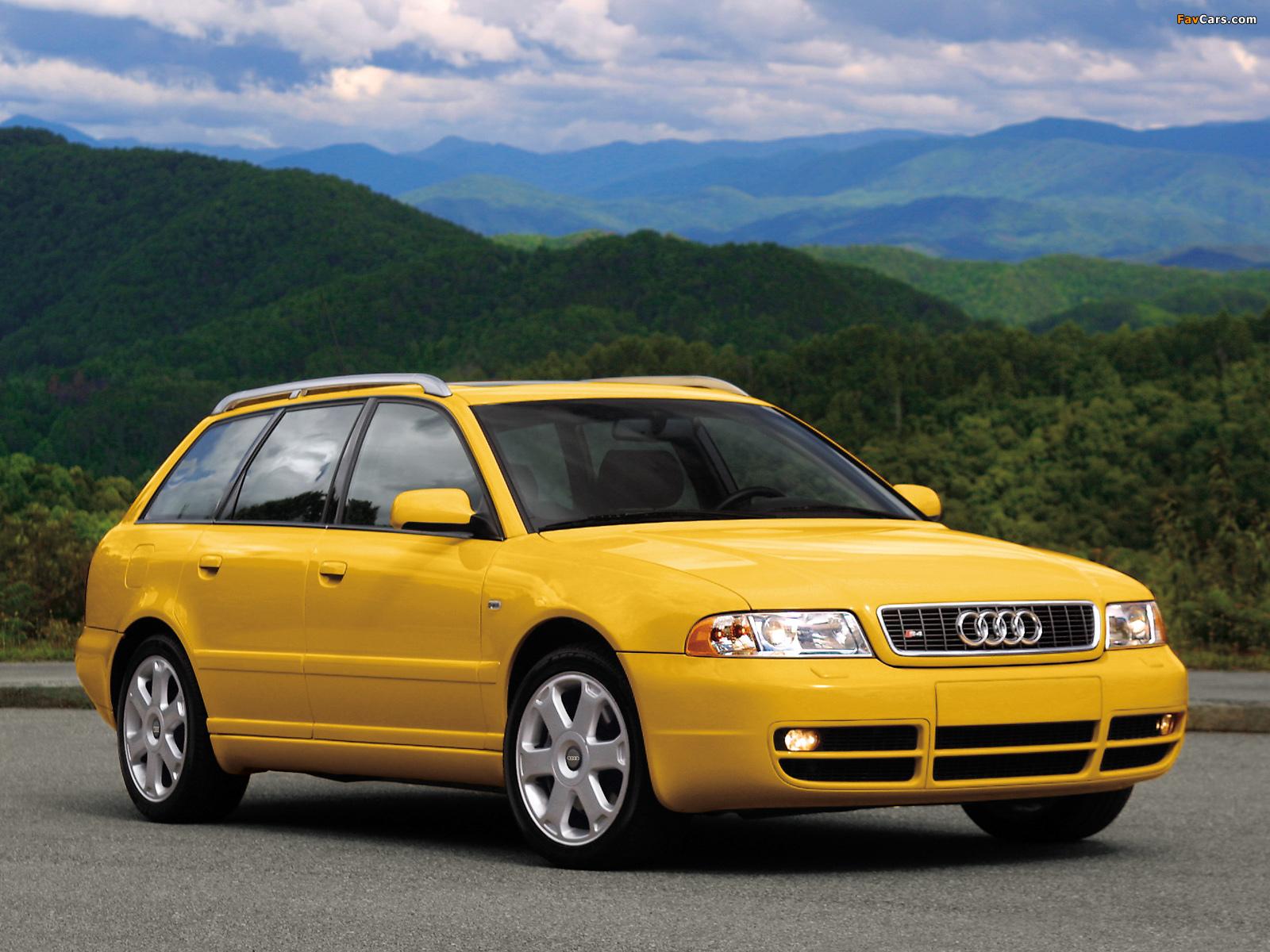 Audi S4 Avant US-spec (B5,8D) 1997–2002 wallpapers (1600 x 1200)