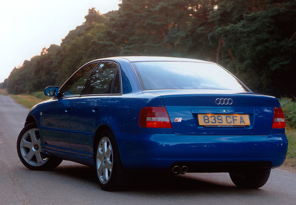 Audi S4 Sedan Uk Spec B58d 19972002 Wallpapers