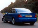 Audi S4 Sedan UK-spec (B5,8D) 1997–2002 wallpapers